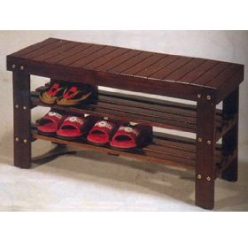 Quality Solid Wood Shoe Bench Storage Bench Furniture